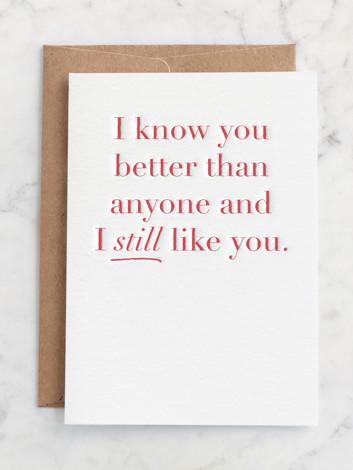 I Still Like You