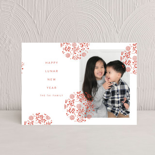 Festive Lantern Chinese New Years Petite Cards