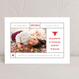 Lunar Lookup Chinese New Years Cards