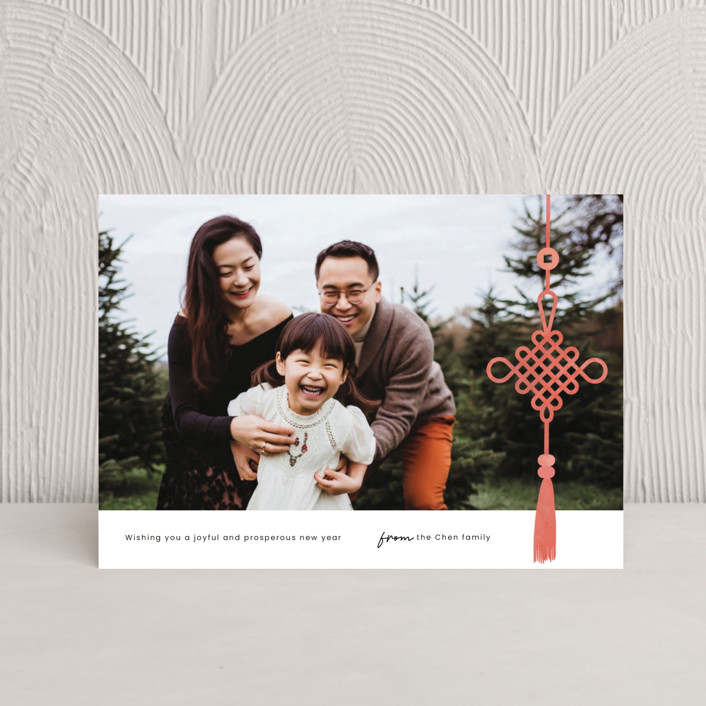 """""""Chinese Knot"""" - Chinese New Years Postcards in Firecracker by Adelyn T.."""