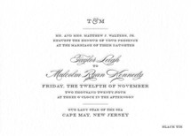 Charming Go Lightly Letterpress Wedding Invitations By danielleb