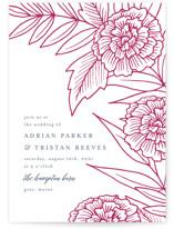 Sketched Peonies by Katharine Watson