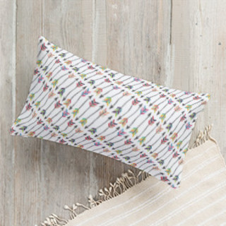 Tribal Arrows Lumbar Pillow