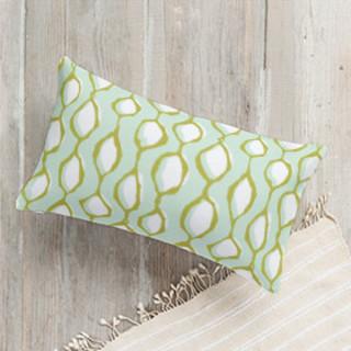 Wonky Ogee Lumbar Pillow