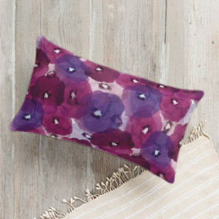 Fantastic Florals Lumbar Pillow