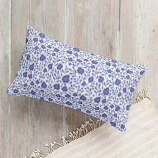 Falling Florals Lumbar Pillow