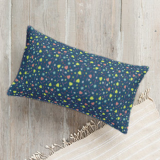 Teen Star Lumbar Pillow