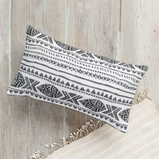 African Tribal Forest Lumbar Pillow