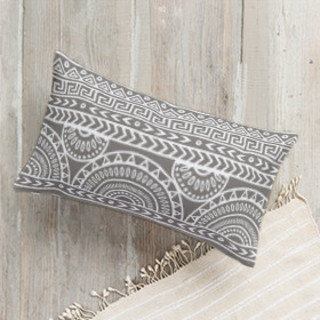 Tribal Mix Lumbar Pillow