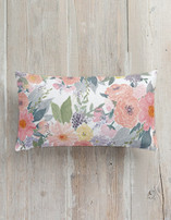 Bold Watercolor Floral Pillows