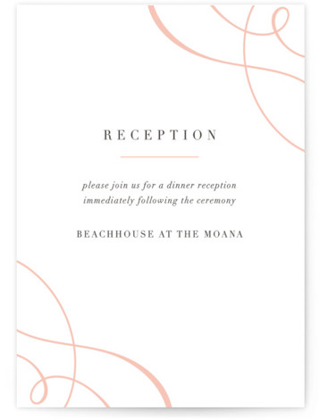 This is a bold and typographic, classic and formal, Reception Cards by Guess What Design Studio called ampersand love 2 with Letterpress printing on 100% Cotton in Card Flat Card format. An elegant typographic wedding invitation with a beautiful ampersand. ...