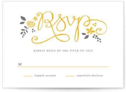 A More Perfect Union Letterpress RSVP Cards