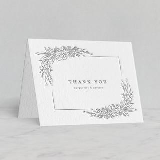 """Franciacorta"" - Letterpress Thank You Cards by chocomocacino."