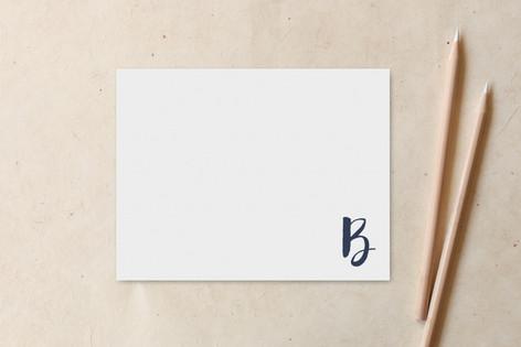 B for Blue Non-Custom A2 Cards