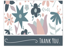 Floral Thank You Note by Michelle S.