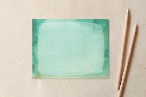 Watercolor Smear Non-Custom A2 Cards