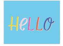 Bold Bright Hello by Ashley DeMeyere