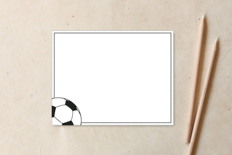 Soccer Non-Custom A2 Cards