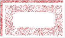 Sketched Frame Gift Tag