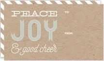 Peace Joy & Good Cheer