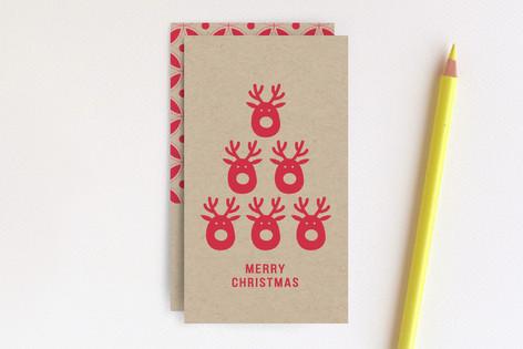 Deer Tree Mini Cards