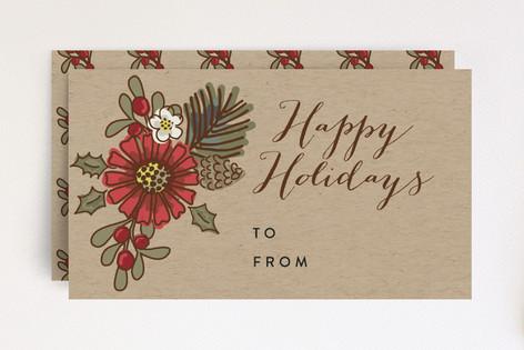 Time of Wonderment Christmas Tag Mini Cards