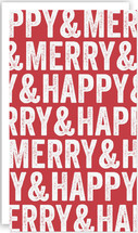 Merry & Happy Holiday Gift Tag