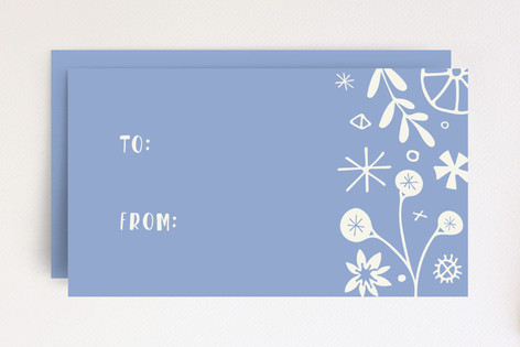 Vintage Floral Tag Mini Cards