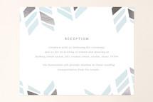 Foil-Pressed Mitzvah Reception Cards