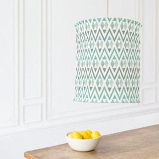 Tribal Triangle Self-Launch Chandelier Lampshades