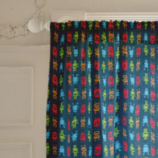 Roving Robots Self-Launch Curtains