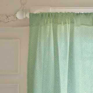 Diamond Fold Self-Launch Curtains