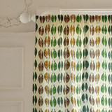Graphic Leaves Curtains