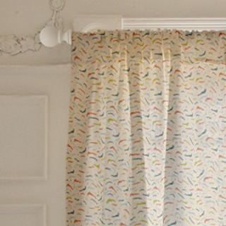 Squiggle Vibes Self-Launch Curtains