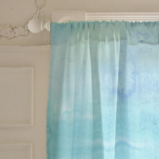Painterly Wash Self-Launch Curtains