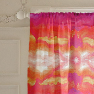 Festival of Colors Self-Launch Curtains