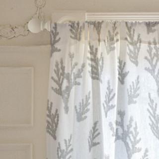 Gentle Juniper  Self-Launch Curtains