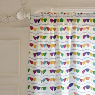 Happy Half Dot Self-Launch Curtains