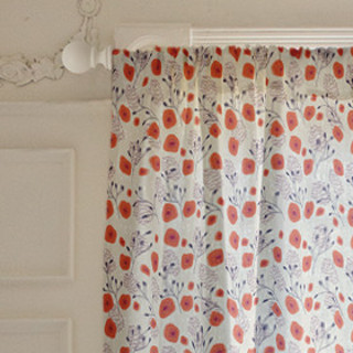 A Winters Garden Self-Launch Curtains