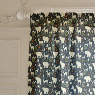 Forest Charm Self-Launch Curtains
