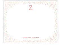 Zoe Monogram Floral Frame
