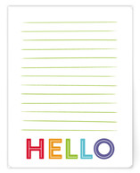 Simple Lined Hello