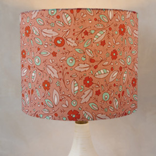 Wildflower Self-Launch Drum Lampshades