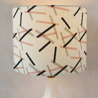 Pick Up Stick Self-Launch Drum Lampshades