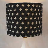 Criss-Cross Drum Lampshades