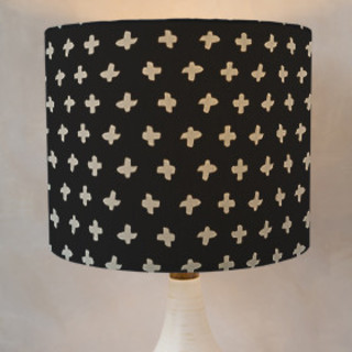 Criss-Cross Self-Launch Drum Lampshades