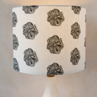 Watercolor Batik Self-Launch Drum Lampshades