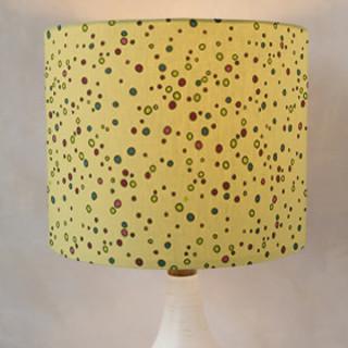 Throwing Stones Self-Launch Drum Lampshades
