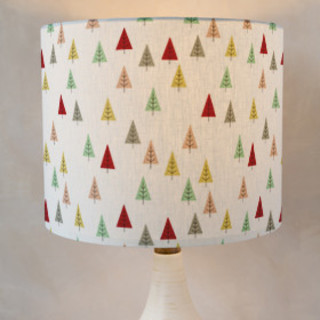 Christmas Tree Forest Self-Launch Drum Lampshades