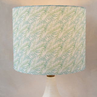 Watercolor Branches Self-Launch Drum Lampshades